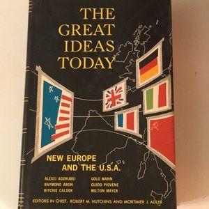 Great Ideas Today 1964 Britannica Great Books